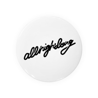 all night long -black- Badges