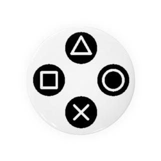 三角、四角、丸、バツ Badges