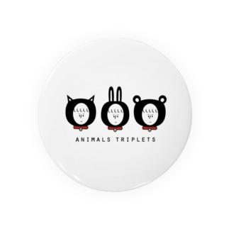Animals triplets Badges