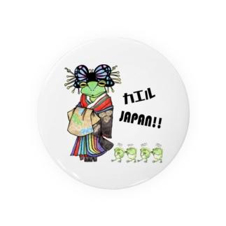 カエルJAPAN!! Badges