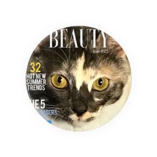 beautyful cat Badges