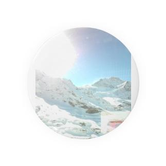 雪景色 缶バッジ