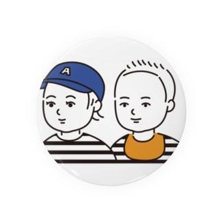 anne&keito 缶バッジ