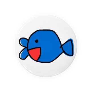 口が2つの魚 Badges