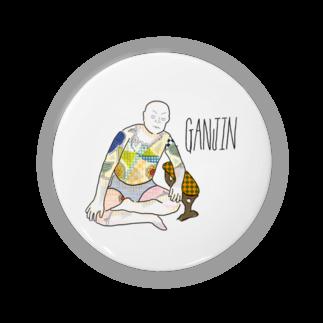 福人ずけのGANJIN Badges