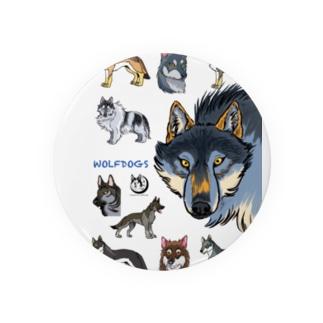 WOLFDOGS Badges