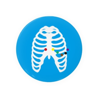 胸部誘導デザイン Badges