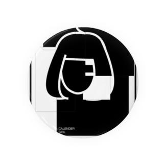 CALENDER GIRL(NO CALENDER) Badges