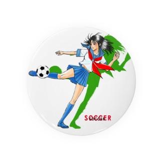 サッカーJK-A 缶バッジ
