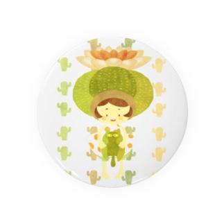 サボテン少女 Badges