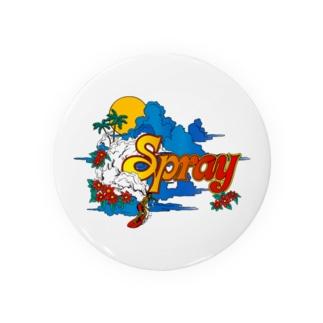 SPRAY 缶バッジ