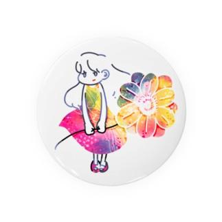 春の宇宙に住む少女 Badges