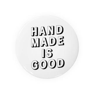 HANDMADE IS GOOD Badges