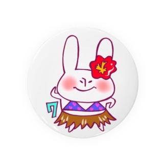 7月のうさぎ Badges