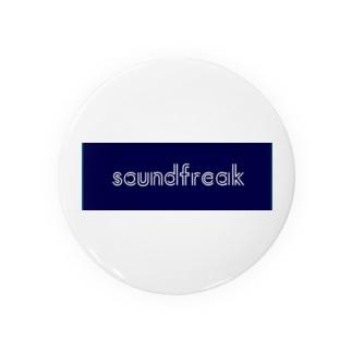 soundfreak (blue) 缶バッジ
