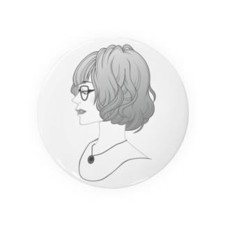 眼鏡女子 Badges