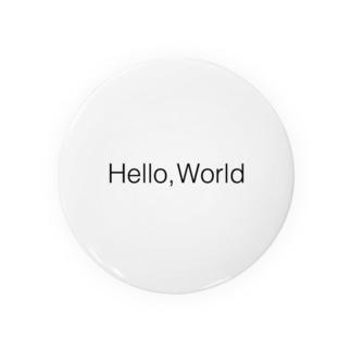 Hello World. Badges