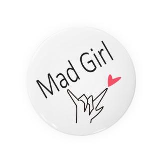 Mad Girl 西船橋 ミンティアボーイ 缶バッジ