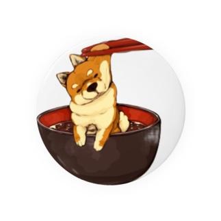 柴犬 むにぃ〜 Badges