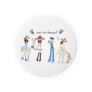 HAPPY GIRLS Badges
