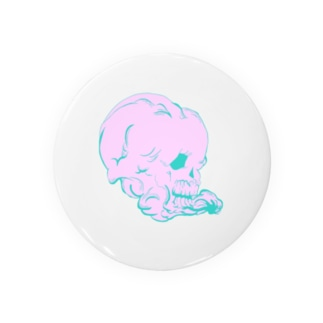 pinkな髑髏 Badges