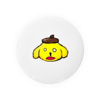 ナニモノプリンの缶バッチ Badges