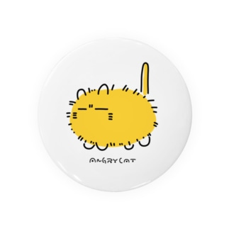ANGRY CAT(tin badge) Badges