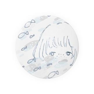 おさかなgirl Badges