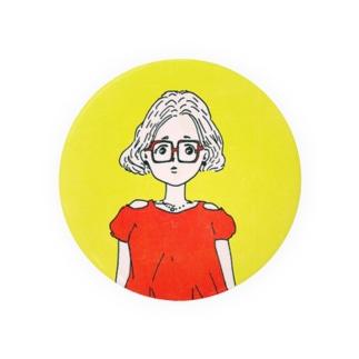 メガネ女子 Badges