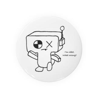 ロボ星人2 缶バッジ