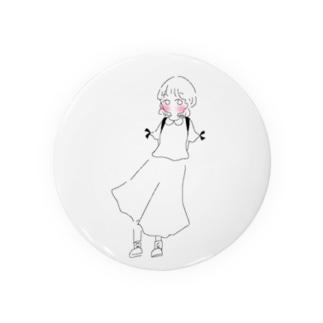 少女ちゃん Badges