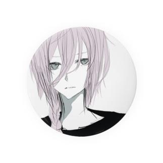 ピンク髪系男子。 Badges