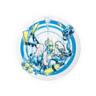 Dive Shot ! Badges
