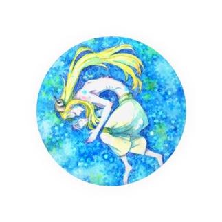 青い眠り Badges