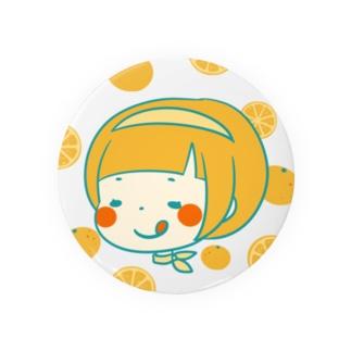 みかんちゃん缶バッチ。 Badges