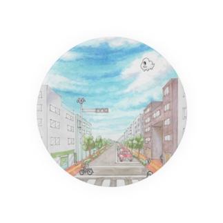 雲あしぃと街 Badges