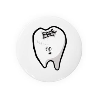 【もぐもぐおじさん】歯くん Badges