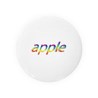 虹色のアップル Badges