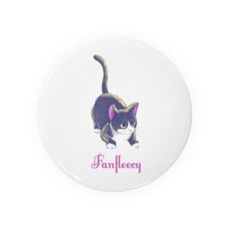 meow meow(black cat) Badges