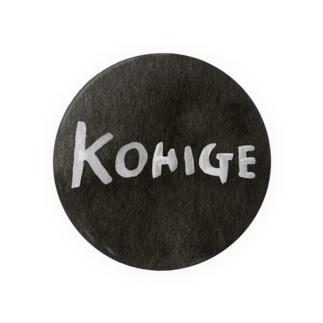 黒髭ロゴカンバッチ Badges