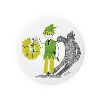 ピーターパン Badges