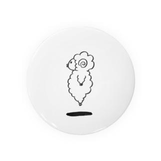 垂直跳びの羊 Badges