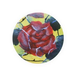 ガラスと薔薇 Badges