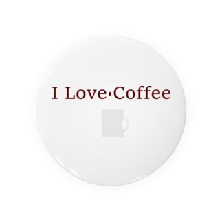 I Love Coffee Badges