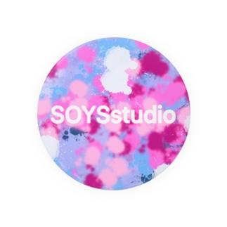 SOYS studio ロゴ入り Badges