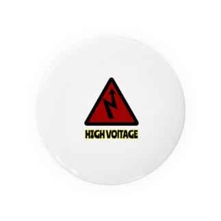 HIGH VOLTAGE Badges