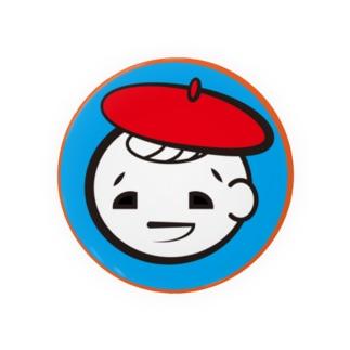 アシタモのベレー帽ぼうや Badge