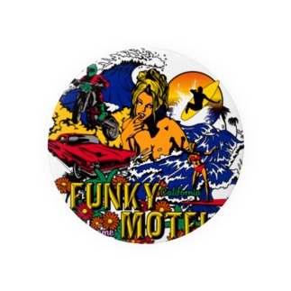 FUNKY MOTEL 缶バッジ