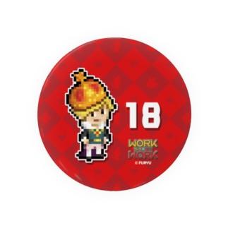 18 缶バッチ Badges