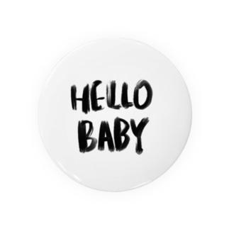 Hello Baby 缶バッジ